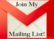 Join My Mailing List -- Christine D'Abo